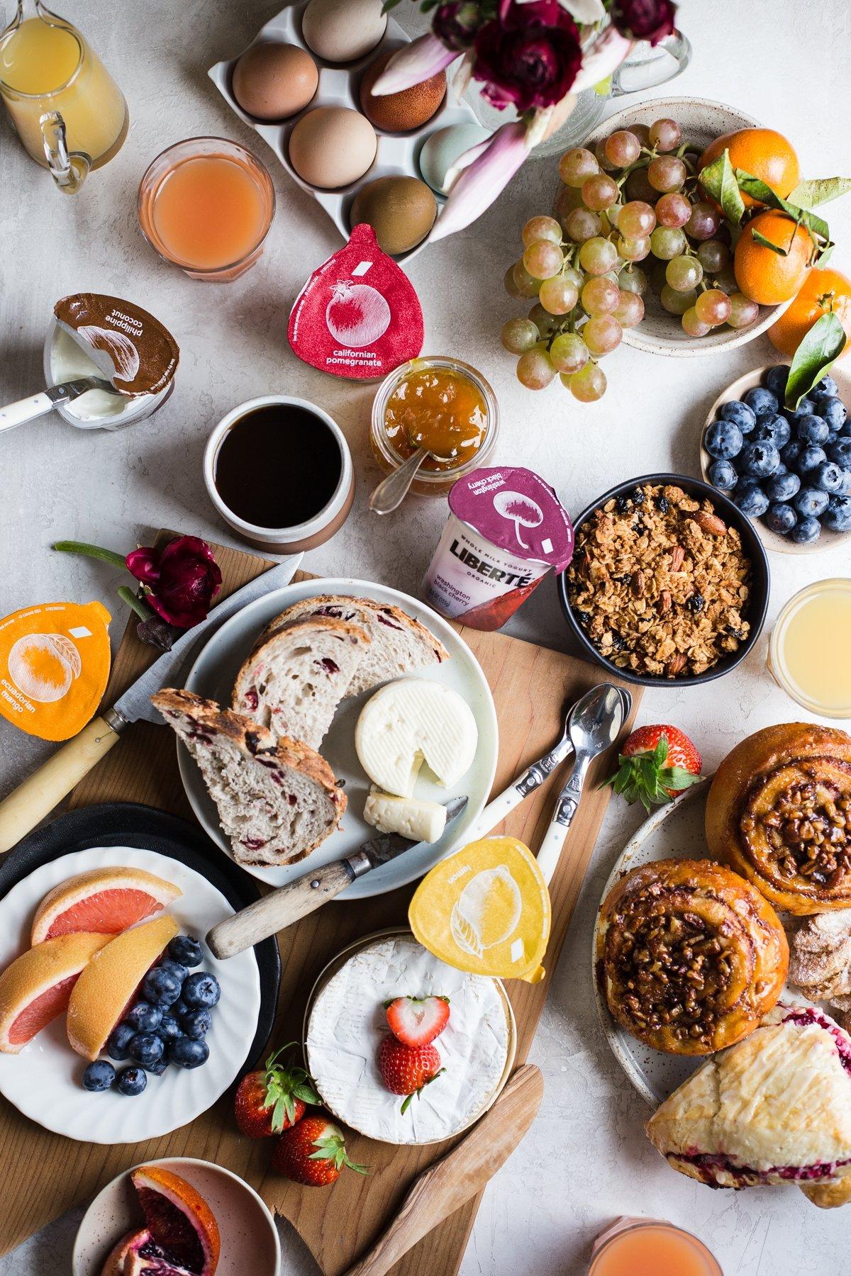 standaard ontbijtmand